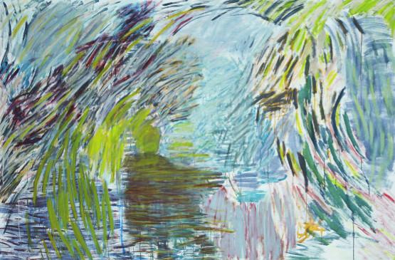 lente-zomer 2013 | acryl en eitempera op linnen | 200 x 300 cm